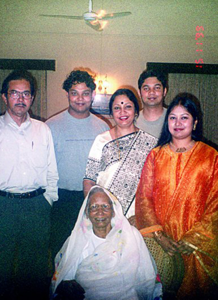With family 1999.