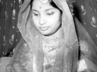 Bride Ferdausi Rahman in 1966.