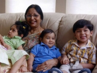 With Grand childrens in Dallas-2008