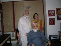 Dhaka,2008 - at niece sharmini's house with her two brothers