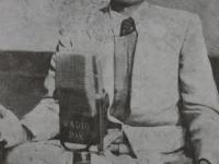 Father Abbasiuddin singing on radio