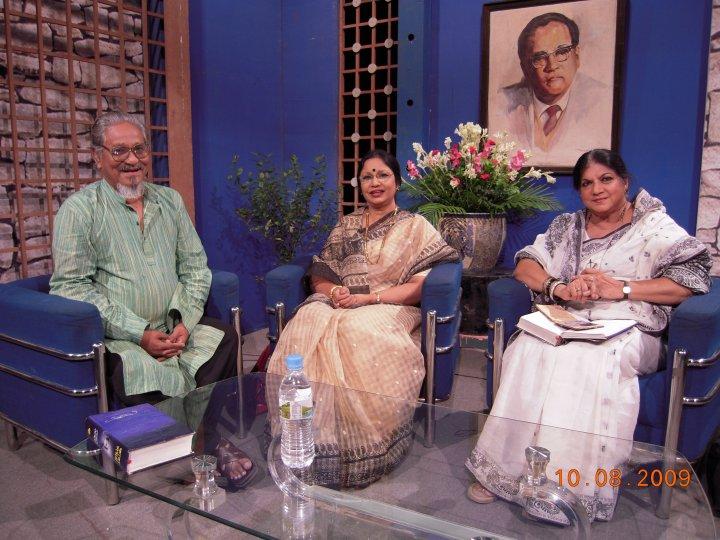 BTV telecast a commemorative prog. on Poet Gulam Mustafa, Poet Asad Chowdhury, was the anchor of the program.
