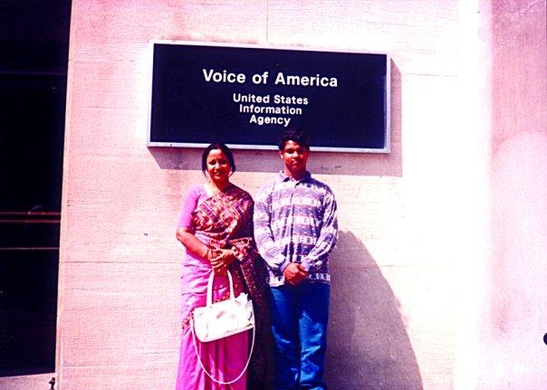 Voice of America with Razin-'92'.