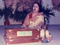 Performing in Islamabad-1991.
