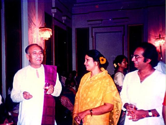 In Calcutta with Boshonto Chowdhury and Ananda Sharkar -1988.