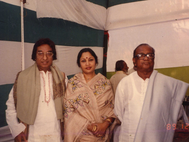 With Khalid Hossain and Shohorab Hossain.