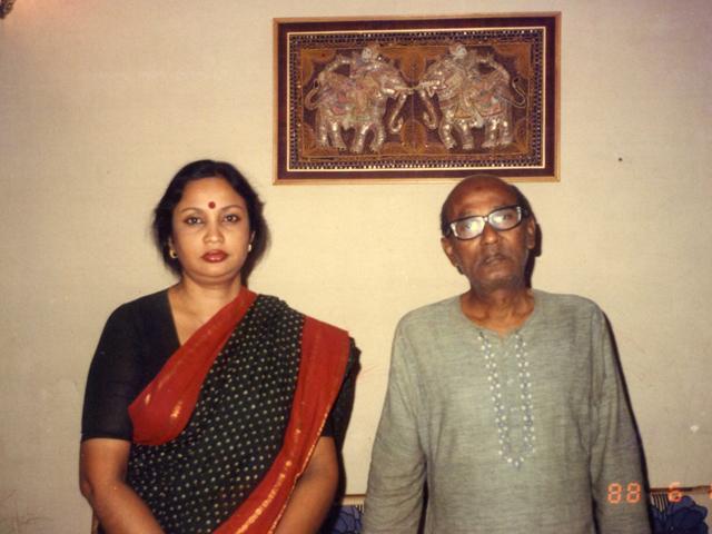 With Abdul Halim Chowdhury.