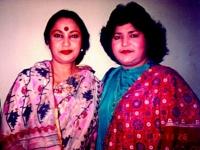 With Abida Parvin in islamabaad, Pakistan-'89'