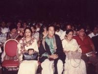 At the Banga Shanskrity Shommelon in Toronto in 1992. In the picture are Shoumita Chatterjee, Mr and Mrs Sunil Bondopaddhye.