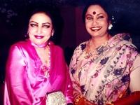With Noor Jahan in Islamabaad.