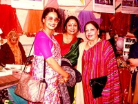 Lassgow Music festival with Razwana Chowdhury Banya and Farida Khanam '99'.