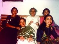 In Dhaka- with Pandit Jasraj, his daughter Durga, Nashid kamal and student.
