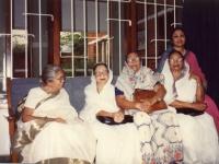 With Begum Sufia Kamal, Begum Abbasuddin and Begum Bodrunnessa.